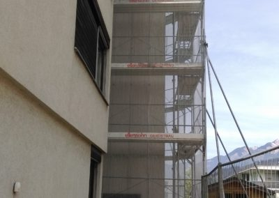 Liftzubau Rafaltenstraße Bludenz